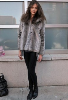 NY Fashion Week Fall 2011 Street Style: More Models