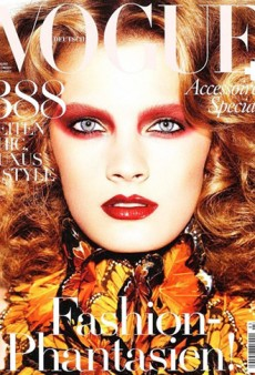 Constance Jablonski for Vogue Germany; Galliano Replacement Rumors in Overdrive