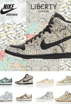 Nike Teams Up With Liberty of London Once Again (Forum Buzz)