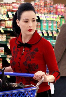 Dita Von Teese's Cardigan Collaboration