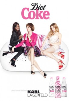 Coco Rocha and Co for Karl Lagerfeld's Diet Coke; Vogue Italia's Jessica Alba Disaster