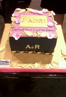 Anna Dello Russo's Birthday Cake and Other Celebrity Twitpics of the Week