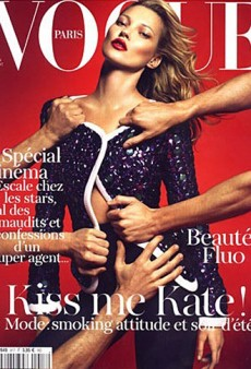 Forum Buzz: Vogue Paris is Hands-on with Kate Moss; Aquilano and Rimondi Are Out at Gianfranco Ferre