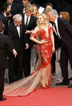 Rachel McAdams Stuns in Marchesa at Cannes; Bar Rafaeli and Leo Split Up