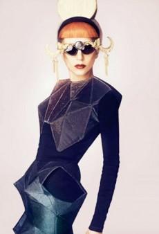 Lady Gaga for Madame Figaro; Balmain's Diffusion Line