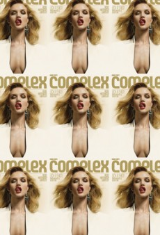 Rosie Huntington-Whiteley's Tongue Covers Complex Mag; Natalia Vodianova and Other Models Go Makeup Free