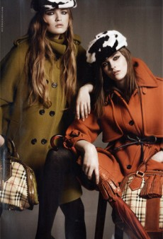 Burberry and Chanel Fall 2011 Campaigns Previews; Kate and Will Cover Vanity Fair [PHOTOS]