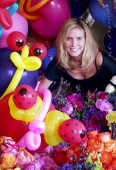 Heidi Klum's Birthday Balloons and Other Celeb Twitpics of the Week