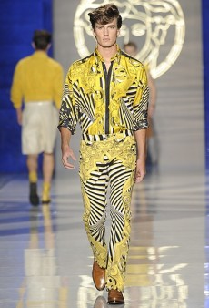 Men's Spring 2012 Milan Fashion Week