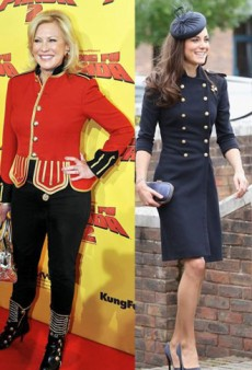 Style Showdown: Kate Middleton's Military Makeover and More
