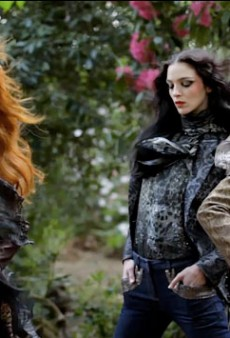 Roberto Cavalli's Bewitching Fall 2011 Campaign Preview [VIDEO]