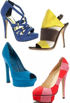 10 Hot Heels in 10 Hot Colors