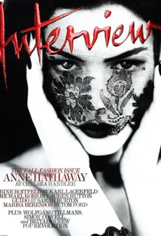 Anne Hathaway Vamps it Up on the Cover of Interview (Forum Buzz)
