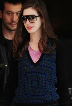 Anne Hathaway: Look of the Day