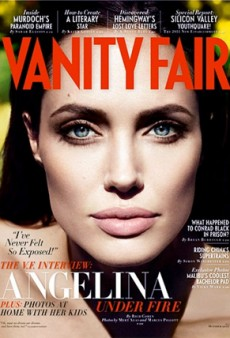 Angelina Jolie Covers October's Vanity Fair