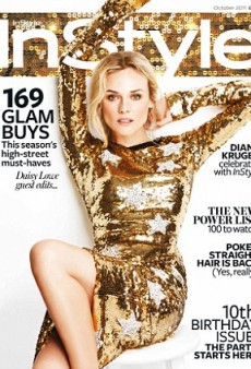Diane Kruger Covers October's InStyle