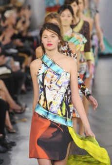 Mary Katrantzou Spring 2012 Runway Review