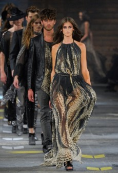 Just Cavalli Spring 2012 Runway Review