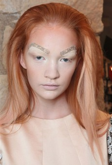 Craziest Beauty Looks from Spring 2012