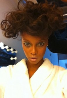 Tyra Banks and Ashley Tisdale Celebrate Their Natural Hair and Other Celeb Twitpics of the Week