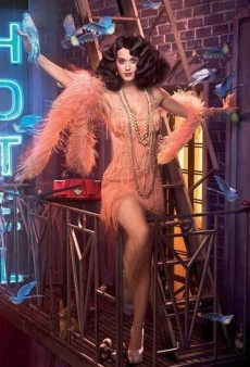 Halloween Costume Inspiration: Celebs in Fringed Flapper Dresses
