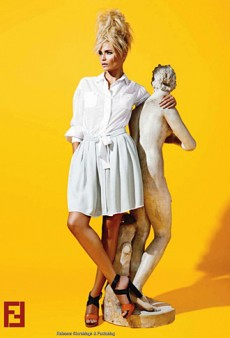 Fendi's Resort 2012 Ads are a Not So Mellow Yellow (Forum Buzz)