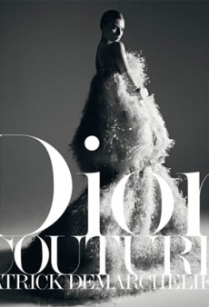 Patrick Demarchelier's New Book Profiles Dior Couture [PREVIEW]