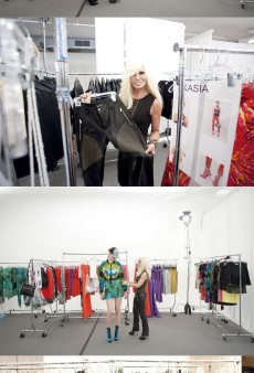 Behind-the-Scenes of Tonight's Versace for H&M Fashion Show