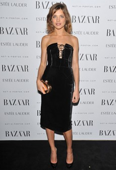Natalia Vodianova Impresses in a Velvet Strapless Tom Ford LBD (Forum Buzz)