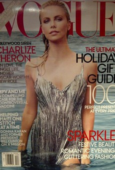 Charlize Theron is Vogue's December 2011 Cover Girl (Forum Buzz)