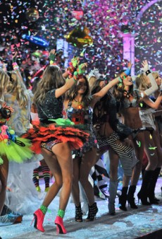 Scenes from the Victoria's Secret Fashion Show: Closed Set with Julie Bensman