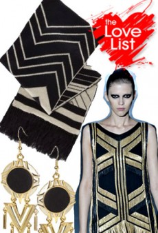 Black + Gold: The Love List