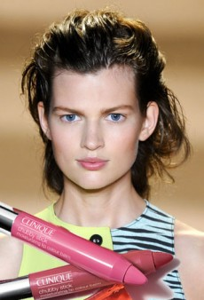 Get the Look with Clinique Chubby Stick: Runway Beauties