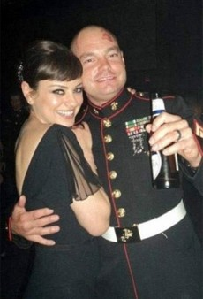 Mila Kunis Attended the Marine Corps Ball, True to Her Word