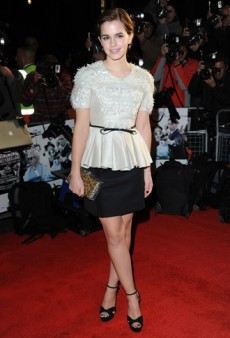 Emma Watson was Lovely in Jason Wu at the UK Premiere of 'My Week With Marilyn' (Forum Buzz)