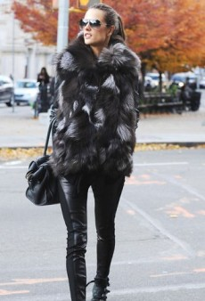 Fur-Ocious: Alessandra Ambrosio, Ashley Olsen and More