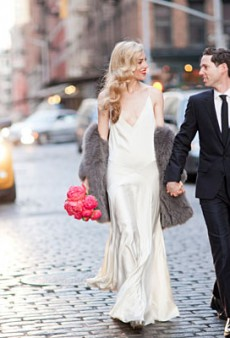 Joanna Hillman Gets Married in Archival Rochas (Forum Buzz)