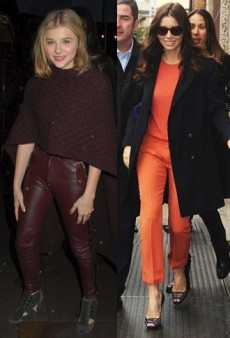 Style Showdown: Not Chloe Moretz's Week