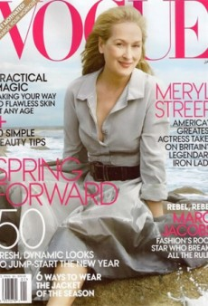 Meryl Streep Covers Vogue
