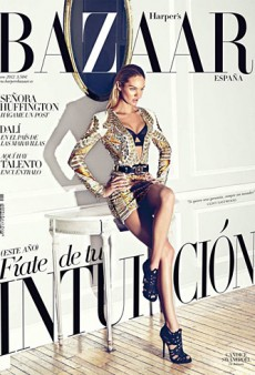 Harper's Bazaar Spain Sets Itself Apart With Its January Cover (Forum Buzz)