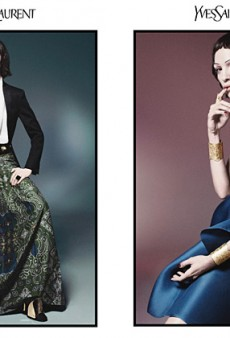 Mariacarla Boscono Models Yves Saint Laurent for Spring 2012 (Forum Buzz)
