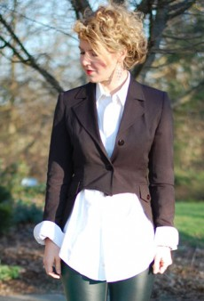 DIY: Tuxedo Jacket with Tails