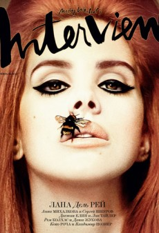 Lana Del Rey and Her Bee-Stung Lips Cover Interview Russia's February Issue (Forum Buzz)