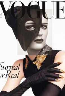 Vogue Italia's 'Surreal or Real' February Cover (Forum Buzz)