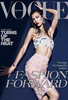 Karlie Kloss Covers Vogue Australia (Forum Buzz)