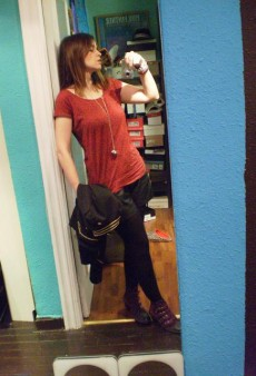 Show Us Your Red: Basic T