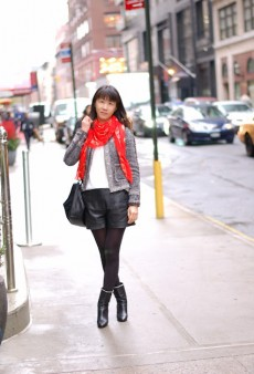 Show Us Your Red: Statement Scarf