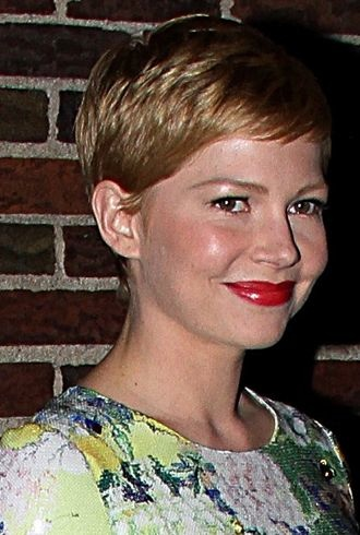 Michelle Williams The Late Show with David Letterman New York City cropped