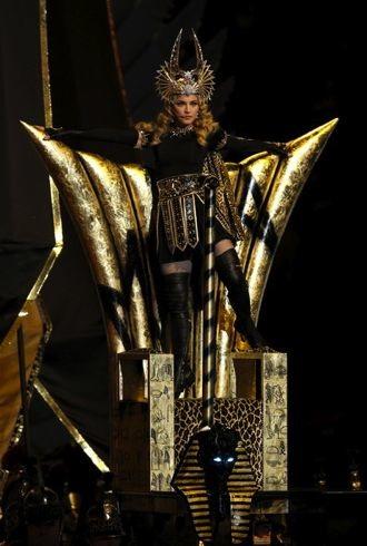 Madonna Bridgestone Super Bowl XLVI Halftime Show cropped