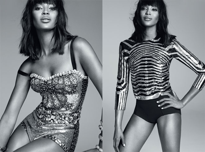 Naomi for Harper's Bazaar